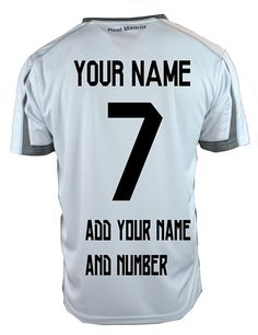 Real Madrid Soccer Jersey   Add Any Name and Number Cristiano Ronaldo 7  T1Y24  RHINOX  RealMadrid bb7d8078e