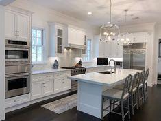 Home Interior Diy .Home Interior Diy Home Decor Kitchen, Diy Kitchen, Home Kitchens, Kitchen Ideas, Best Kitchen Layout, Remodeled Kitchens, Dream Kitchens, Kitchens With White Cabinets, Kitchen Layout Plans