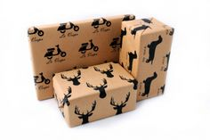 Wrapping Paper by Fox & Heroine on hellopretty.co.za