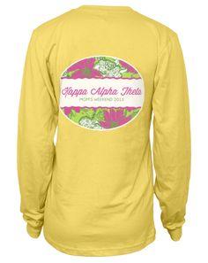 Kappa Alpha Theta Moms Weekend Long Sleeve Tee