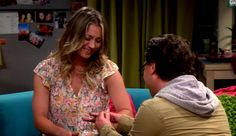 Penny And Leonard's Engagement - FINALLY!!!