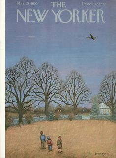 The New Yorker - Saturday, March 26, 1955 - Issue # 1571 - Vol. 31 - N° 6 - Cover by : Edna Eicke