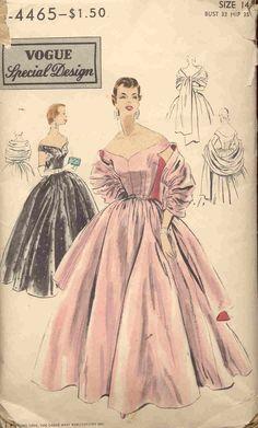 Vogue 4465 Vintage Pattern