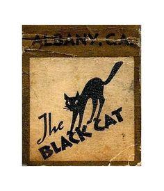 The Black Cat Roadhouse matchbook • Albany, Georgia