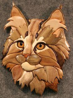 intarsia kitten