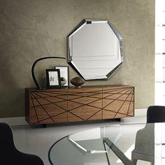 Wooden sideboard WEBBER By Cattelan Italia design Andrea Lucatello Wooden Furniture, Luxury Furniture, Cool Furniture, Furniture Design, Furniture Storage, Antique Furniture, Modern Sideboard, Modern Buffet, Wood Sideboard