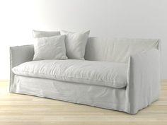 Gervasoni Ghost 15 Sofa 3D-Modell | Paola Navone