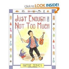 Is your child always wanting more?  This book helps teach about a more simple life.