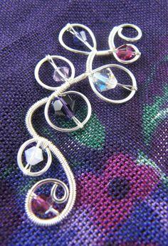 Simple Wire Pendant   JewelryLessons.com