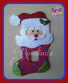 Porta apagadores Christmas Yard Art, Christmas Craft Projects, Christmas Cross, All Things Christmas, Christmas Decorations, Christmas Ornaments, Holiday Decor, Sewing Crafts, Diy Crafts