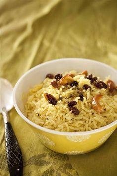 C'est le meilleur riz au monde. Je veux dire, la meilleure recette... J'adore la légèreté que tu obtiens avec cette recette. Le riz paraît aérien, chaque grain est détaché, c'est une...