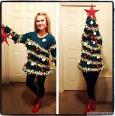 Awesome sweater! If only I'd had this for my ugly sweater Christmas party!!