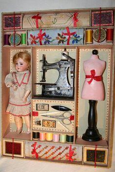 Old Ginny doll set