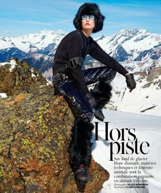 Karlie Kloss by Gilles Bensimon for Vogue Paris November 2014