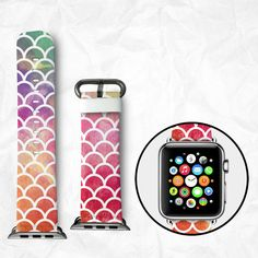 Handmade Apple Watch Strap 38/42mm - Round (BBSW011)