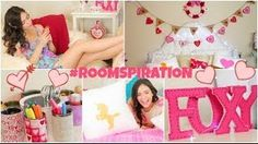 DIY Room Decorations for Valentine's Day & more! - YouTube