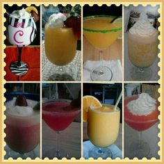 My drink creations.