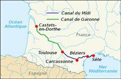 carte canaux