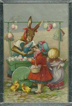 Old Easter Post Card — (554x820)