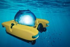 If anyone has got some spare cash and is willing to buy me this... :D WANT! Personal submarine for $2,000,000