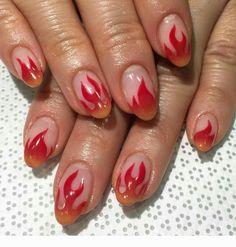 Installation of acrylic or gel nails - My Nails Short Nails, Long Nails, Cute Nails, Pretty Nails, Gorgeous Nails, Hair And Nails, My Nails, Pin Up Nails, Nagel Gel