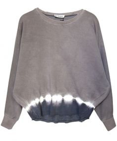 Liv Bergen Batwing Sweater AUDREY taupe grey