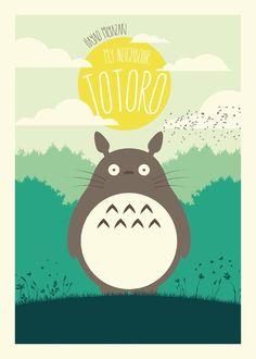 Mi vecino Totoro - Javier Vera Lainez / Diseñador Gráfico