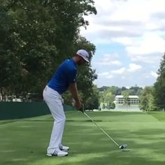 Dustin Johnson in slow motion.