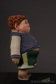 Stop motion puppet Paranorman