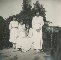 The four Romanov sisters in 1914.A♥W