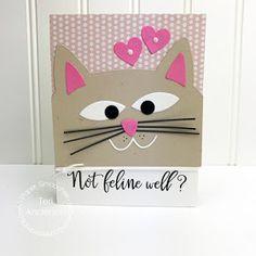 Our APRIL guest designer will be announced tomorrow. :)     Cat Dog Card Die       (Critter Card Puns, Heart Dies)         Heidi Randazzo...