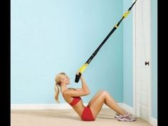 Flat Stomach Workout: TRX Upper Body Workout for Women