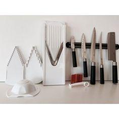 Promoção dia da Mãe: V3 Branco com spirelli e afiador de facas, oferecemos o conjunto de facas Asia dum valor de 30 €