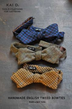 Tweed and camouflage take center stage in a new menswear label designed and manufactured in NYC Tartan, Tweed Run, Bowtie And Suspenders, Tweed Suits, Classic Style, My Style, Harris Tweed, Tie And Pocket Square, Groom Attire