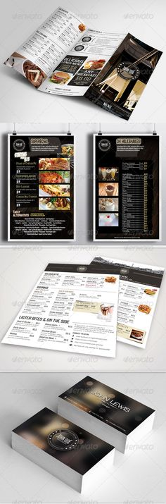 restaurant food menu templates can be used as you like, it can be modified easily, and this will help you to improve your busine...