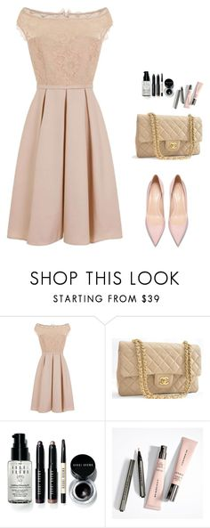 """Evening"" by monika1555 on Polyvore featuring Little Mistress, Chanel and Bobbi Brown Cosmetics"