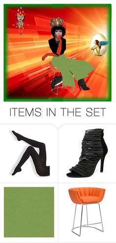 """""""Orange and Green"""" by diannecollier ❤ liked on Polyvore featuring art and polyvoreeditorial"""