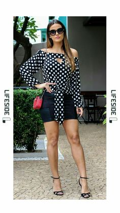 ideas for moda outono inverno 2019 2019 Trendy Summer Outfits, Winter Fashion Outfits, Women's Summer Fashion, Casual Outfits, Fashion Dresses, Cute Outfits, Swimwear Guide, Look Con Short, Style Feminin