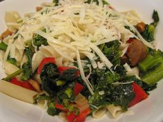 GF Penne & Sausage & Broccoli Rabe recipe