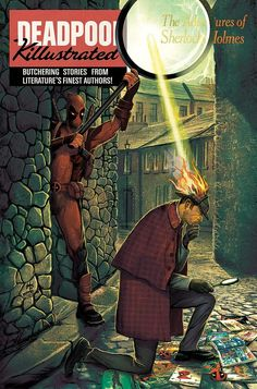 """Deadpool Killustrated"" #4 by Mike Del Mundo"