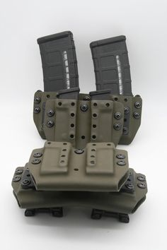MEGA MAG Holster, with tek lok type mount and independent tensioners for each one. Tactical Gloves, Tactical Gear, Revolver, Survival Gear, Survival Backpack, Survival Quotes, Battle Belt, Ammo Storage, Police Gear