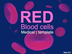 This template has a 3D rendering of Red blood cells. You can edit and adapt this powerpoint to your own design or use the default colour schemes and layout created by us.