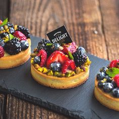 Fruit mini tart is always a such good looking dessert, colorful, shiny, fresh…