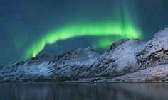 Fredrik Broms, originally from Sweden, has spent ten years photographing the Northern Lights in Norway.