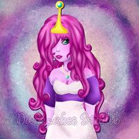 Princess Bonnibel Bubblegum by =nanecakes on deviantART