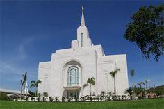 San Salvador El Salvador Mormon Temple. © 2011, Mauricio Garcia Abrego. All rights reserved.