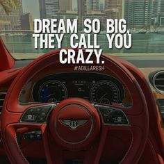 Dream so big, they call you crazy. Like and comment if you agree! ➡️ @nowplayingmusik for more!