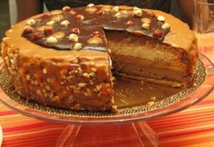 Toffifee ihlette álomtorta Torte Cake, Salty Snacks, Hungarian Recipes, Tea Cakes, Cakes And More, Cupcake Recipes, Cake Cookies, Fun Desserts, Sweet Recipes