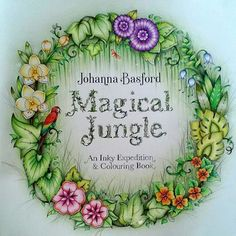 Finished  #magicaljungle #johannabasfordmagicaljungle #johannabasford…