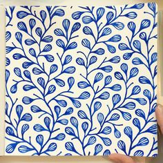Blue leaves done! Now for some berries or flowers Kids Watercolor, Watercolor Sketchbook, Watercolor Cards, Watercolor Flowers, Watercolor Paintings, Watercolor Pattern, Watercolors, Pottery Painting, Ceramic Painting